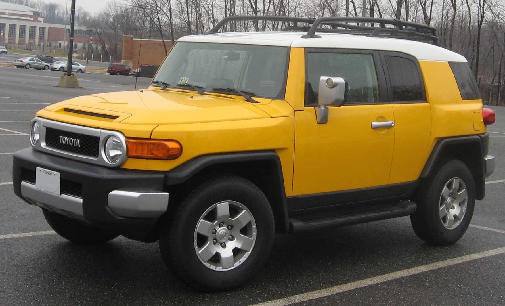http://en.wikipedia.org/wiki/Toyota_FJ_Cruiser | Automobiles ...