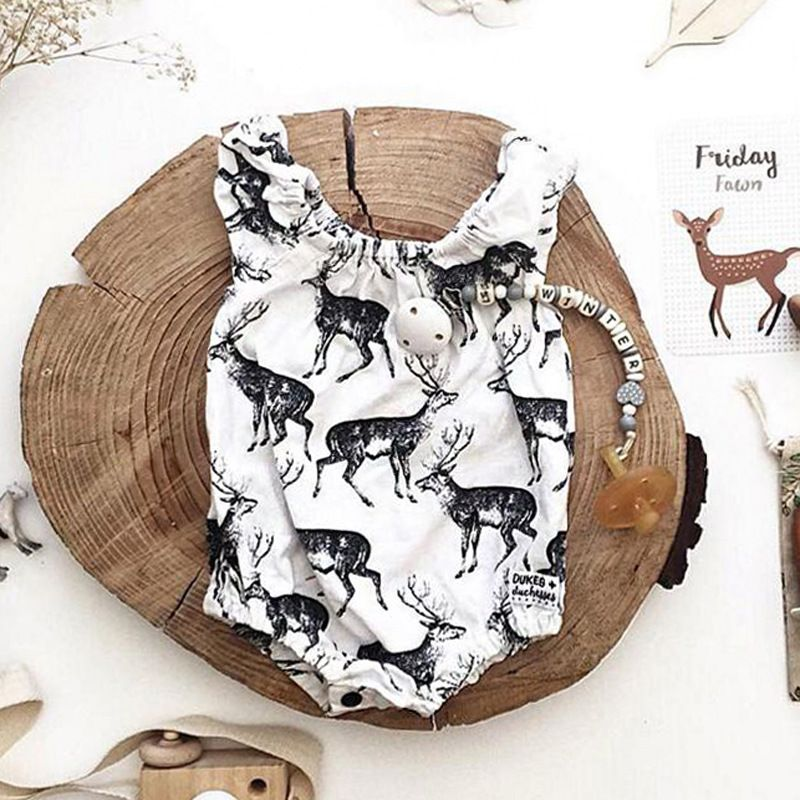 >> Click to Buy << Baby Girl Rompers Summer 2017 Girls Clothing Sets printing Hunhan Newborn Baby Clothes Cute Baby Jumpsuits Infant Girls Clothing #Affiliate