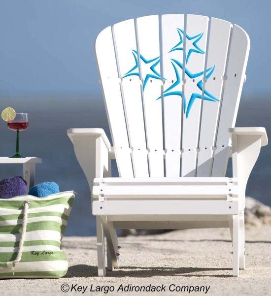 Adirondack Beach Chairs on Beach Bliss Living: http://beachblissliving.com/adirondack-beach-chairs-a-summer-classic/