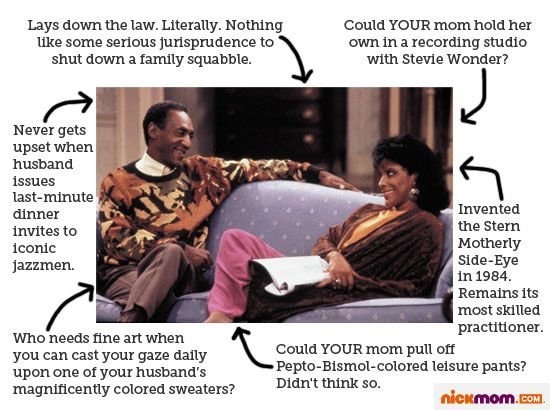 I Wish I Could Be Like: Clair Huxtable