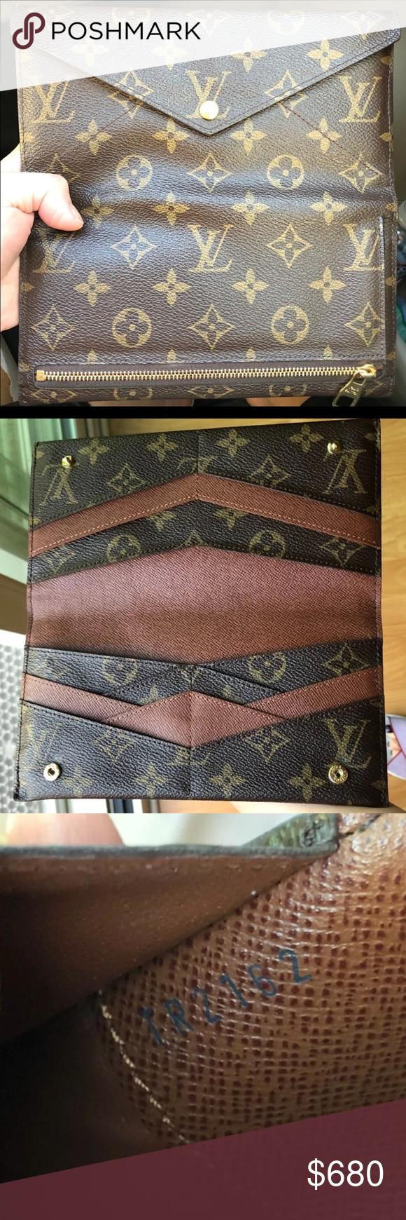 Lv Monogram Portefeuille Origami Wallet In 2018 My Posh Picks