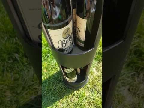 Erdkuhlschrank Selber Bauen Youtube Bierkuhler Garten