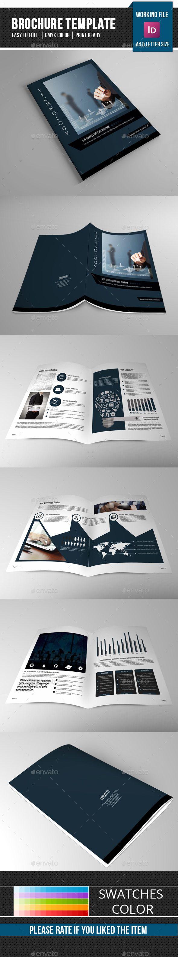 Technology Brochure TemplateV  Brochure Template Brochures