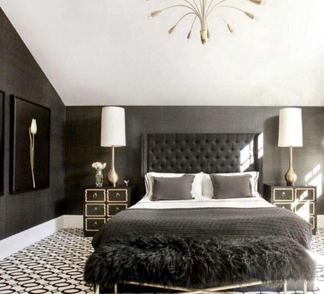 Cozybedroom Bedroomgoals Bedroomdecoratingideas Blackandwhite