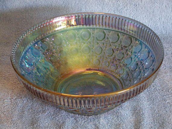 Carnival Glass Bowl Blue Carnival Glass Bowls Blue Carnival Glass Carnival Glass