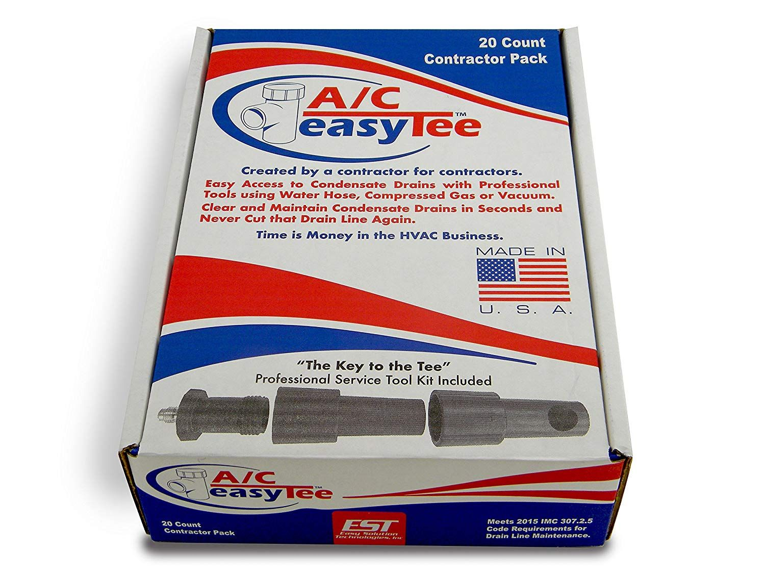 A C Easy Tee Contractor Pack Read More Reviews Of The Product By Visiting The Link On The Image This Is An Affiliate Lin Hvac Business Drains Contractors