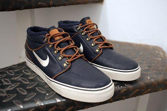 Nike Zoom Stefan Janoski Mediados Premium Chicos Del Extremo Del Ala Negro comprar falso barato 2014 venta online popular icO3u