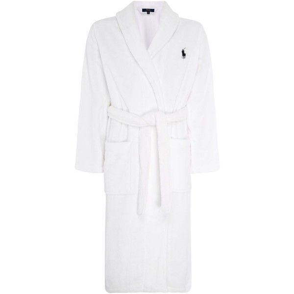 Polo Ralph Lauren Soft Terry Robe (205 AUD) ❤ liked on Polyvore ...