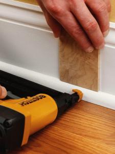 Shoe Molding On Floating Floor Base Shoe Molding Diy Home Improvement Moldings And Trim