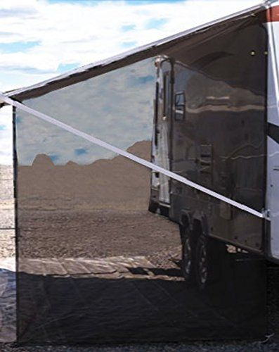 Tentproinc Rv Awning Side Sun Shade Net 9 7 Black Complete Kits Drop Motorhome Trailer Sunblocker Screen Retractab Camping Canopy Awning Shade Shade Screen