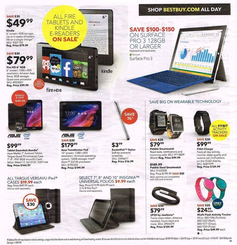 Best Buy Black Friday 2014 Ad Page 11 (With images) Cool
