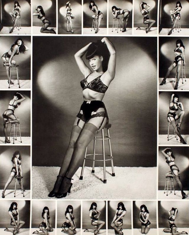 Bettie Page Collage