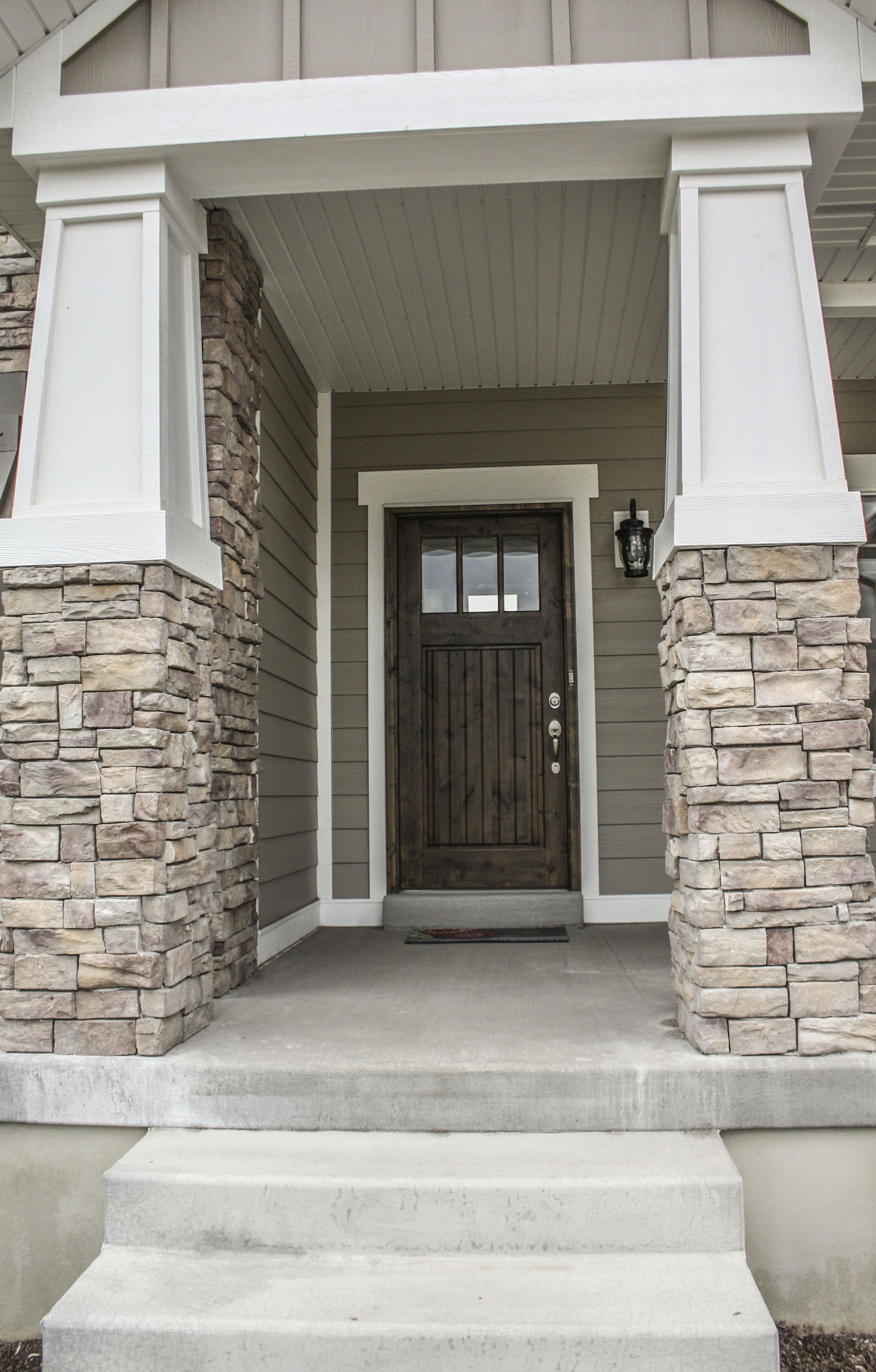 Craftsman Style Home Decorating Ideas: Craftsman Style Column Detail