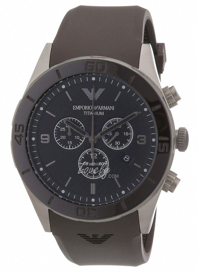 นาฬิกาผู้ชาย Emporio Armani AR9501 with Plastic Strap   นาฬิกาข้อมือ ... cdae4289e8