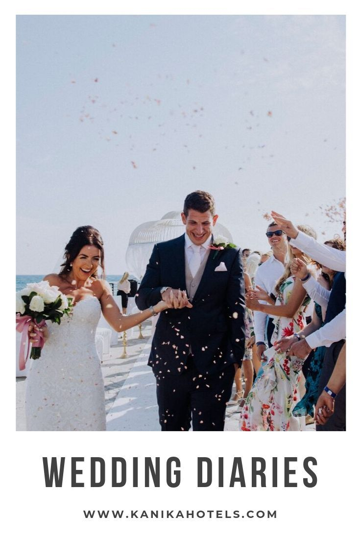 Wedding Diaries at Kanika Hotels & Resorts Looking for an intimate destination wedding but not sure where to start? Send us an email at weddings@ and we will guide you to organise your dream wedding, step by step, at Elias Beach Hotel Limassol.