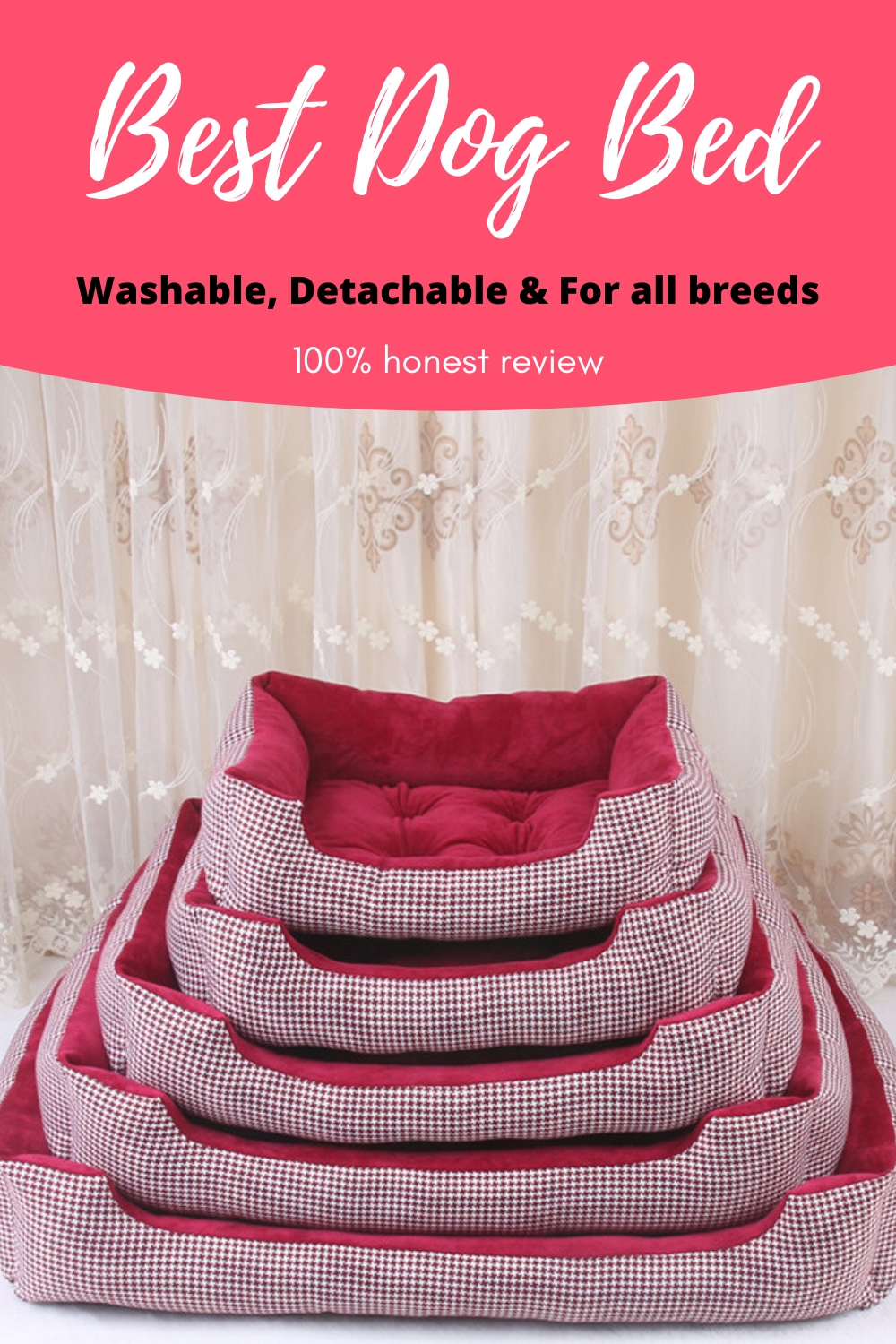 The Best Dog Bed in 2020 Dog bed, Washable dog bed, Cool