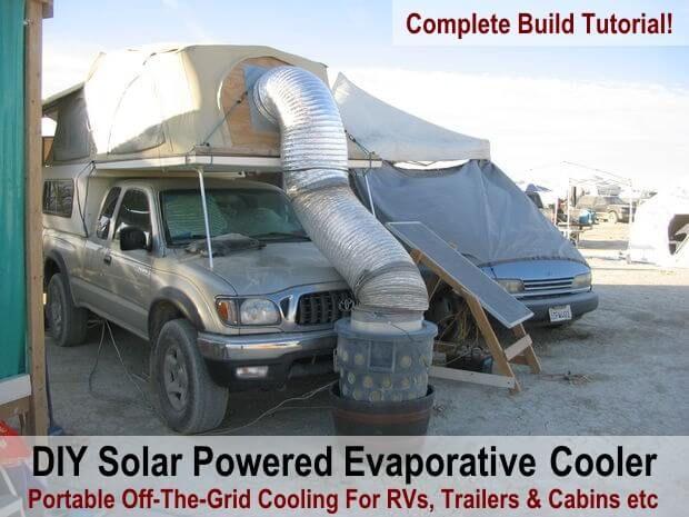 Over 40 Of Our Favourite Diy Solar Projects Tutorials Evaporative Cooler Swamp Cooler Diy Swamp Cooler