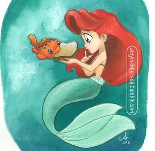 Guess Who's Coming to Dinner #Ariel #Pudge #peanutbuttersandwich