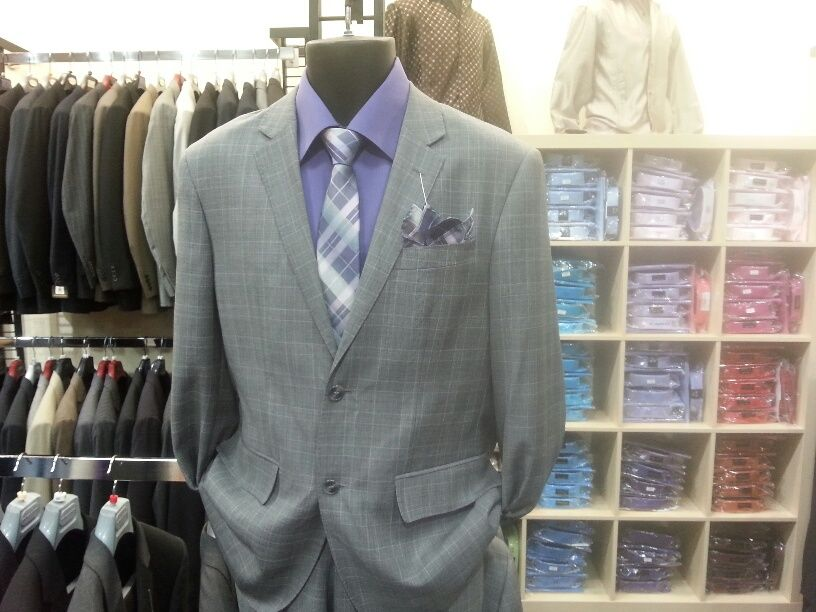 Dress shirts in many colors $29.95 with suit package sale $19.  We carry slim fit dress shirts and casual shirts $49.95 - $59.95 with 20% off sale