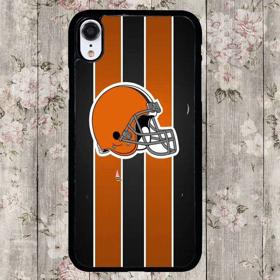 Cleveland+Browns+Football+Team+Custom+iPhone+XR+Case