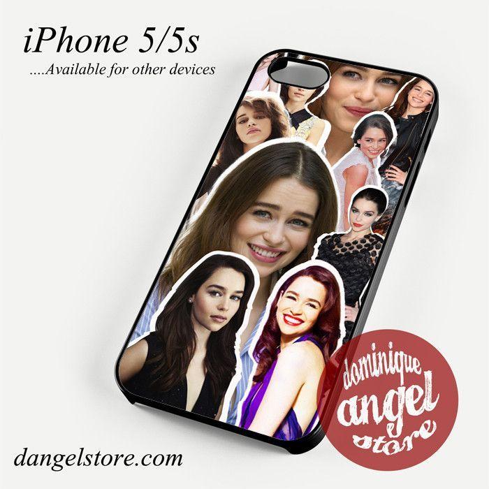 Emilia Clarke Collage Phone case for iPhone 4/4s/5/5c/5s/6/6s/6 plus