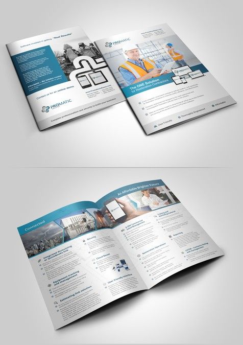 Promatic Software Brochure By Adwindesign  Business Design