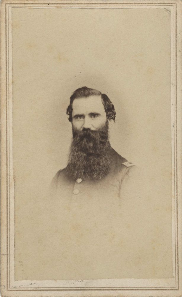 Carte De Visite Of Benjamin S Williams He Enlisted Into Company D 8th Wisconsin Infantry Regiment On July 18 1861 And Impressed His Superiors Enough To