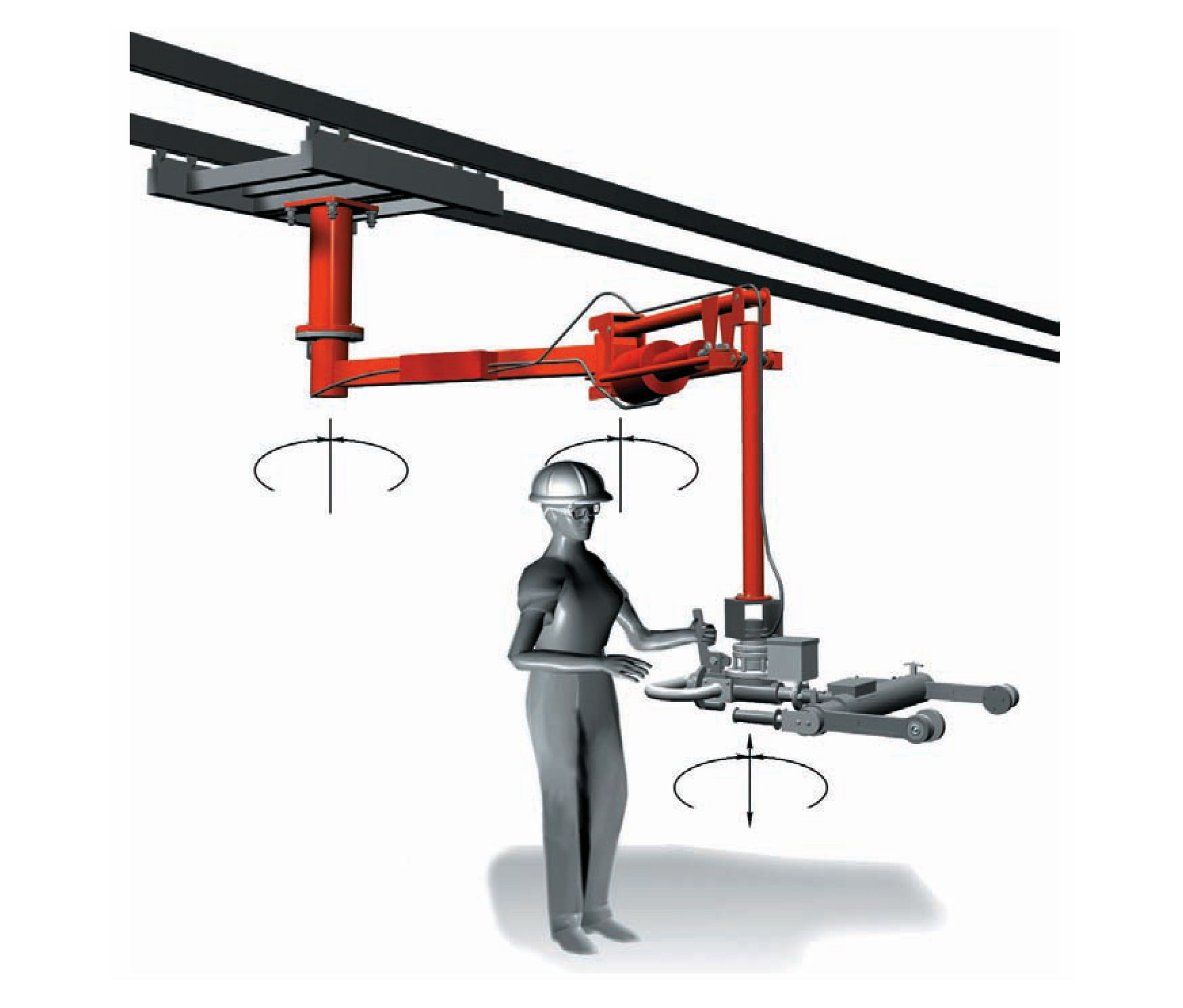Lift Assist Articulating Arm : Lodearm manipulator arm mekanizma pinterest arms