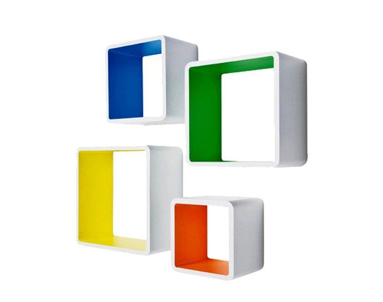 Lounge Cubes Square Colore (4/Set)