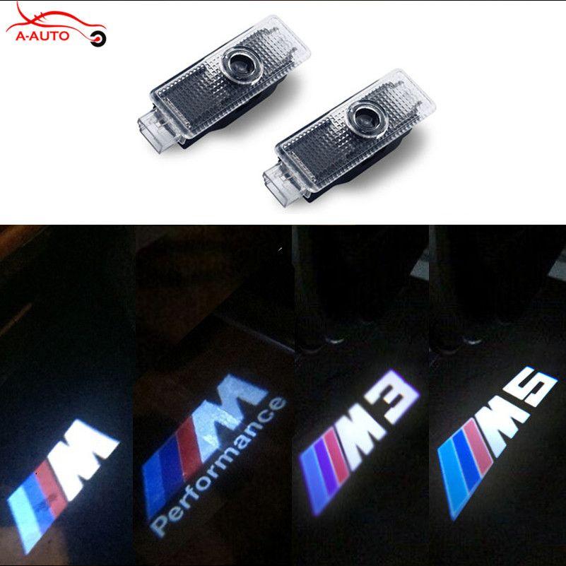 2 車のドア歓迎ライトmスポーツロゴプロジェクターled用bmw E60 E90 F30 F10 E92 E93 E70 M3 M5 M6 F01のf02 X1 X3 X5 X6 E92 Bmw Projecteur Led