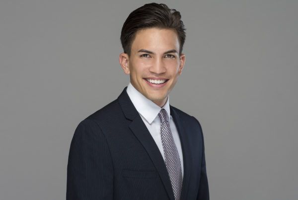 male suit and tie headshot