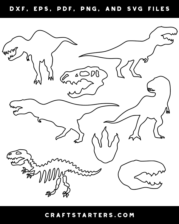 T Rex Svg Free : Patterns, Outlines, Animals,, Objects,