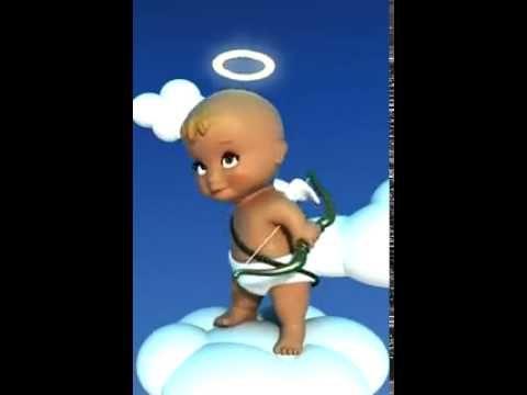 Прикольный ангелочек - YouTube