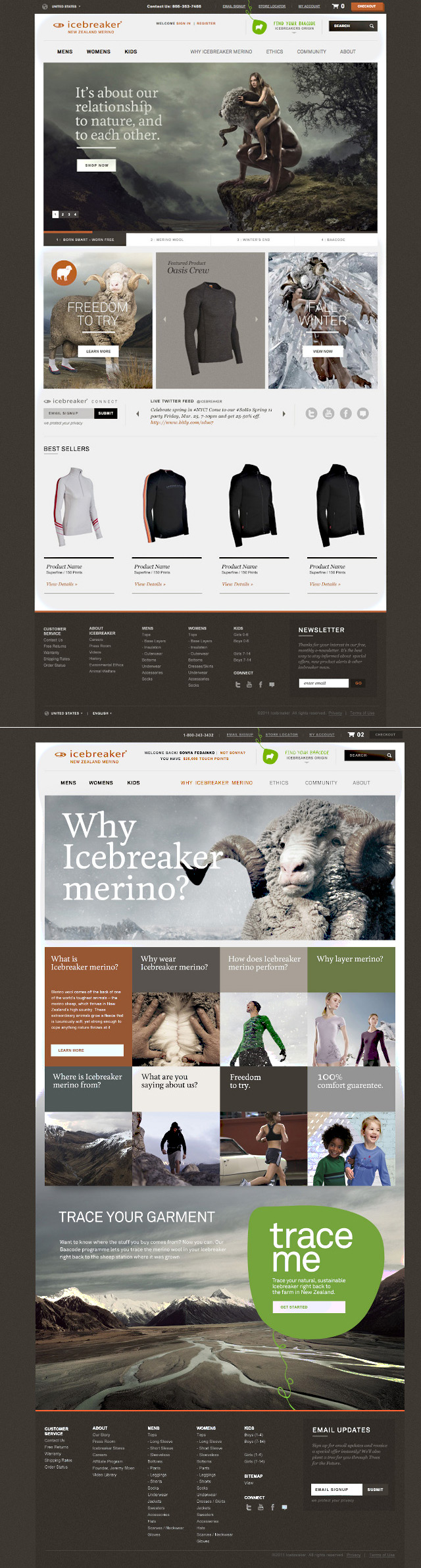 Brian Brooks Design Art Direction Ky Or Mn Web Design User Interface Web Design Projects Interactive Design