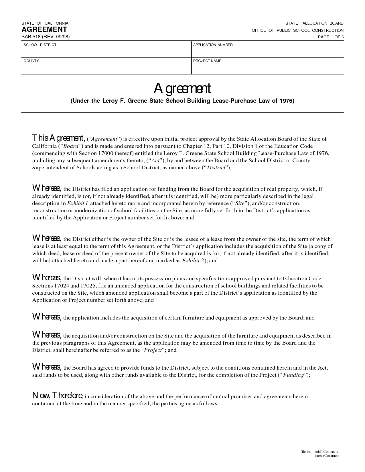 Agreement  Business Templates    Template And Business
