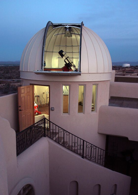 Las Crucas Observatory Home Architecture Astronomical