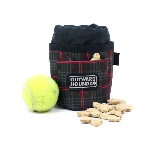 $6.10-$4.63 Kyjen Outward Hound Treat 'N Training Bag Fashion Print, Plaid - Stylish colors and patterns update this convenient, foldable bag for treats, balls and food. http://www.amazon.com/dp/B003MU9NSU/?tag=pin2pet-20