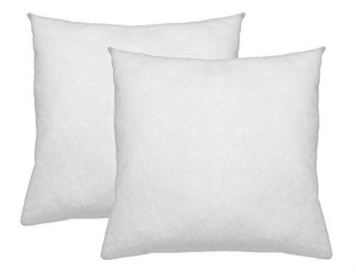 26X26 Pillow Insert Magnificent Euro Pillows 26X26 Set Of 2 Square Pillow Inserts For Dechttps Decorating Design