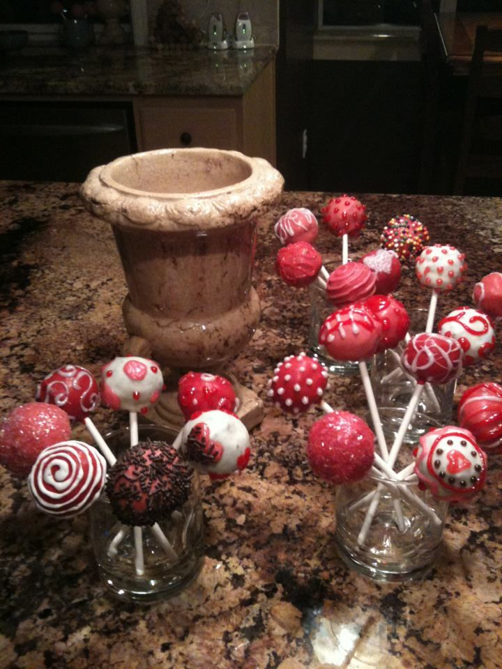 My first cakepops
