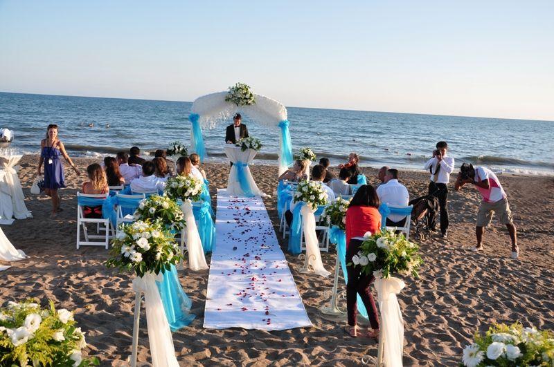 Susesi Belek Belek Turkey Beach Wedding Set Up X Perfect Weddings Abroad Wedding Abroad Wedding Set Up