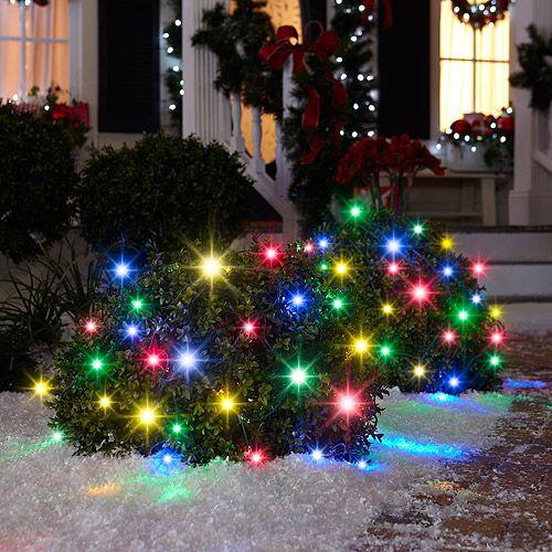 lightshow sparkle 70 count net christmas lights multi color