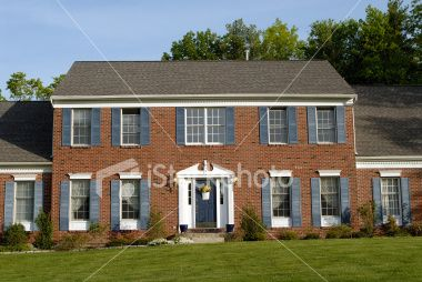 Pictures Of Red Brick Houses Shutter Color For Brick House