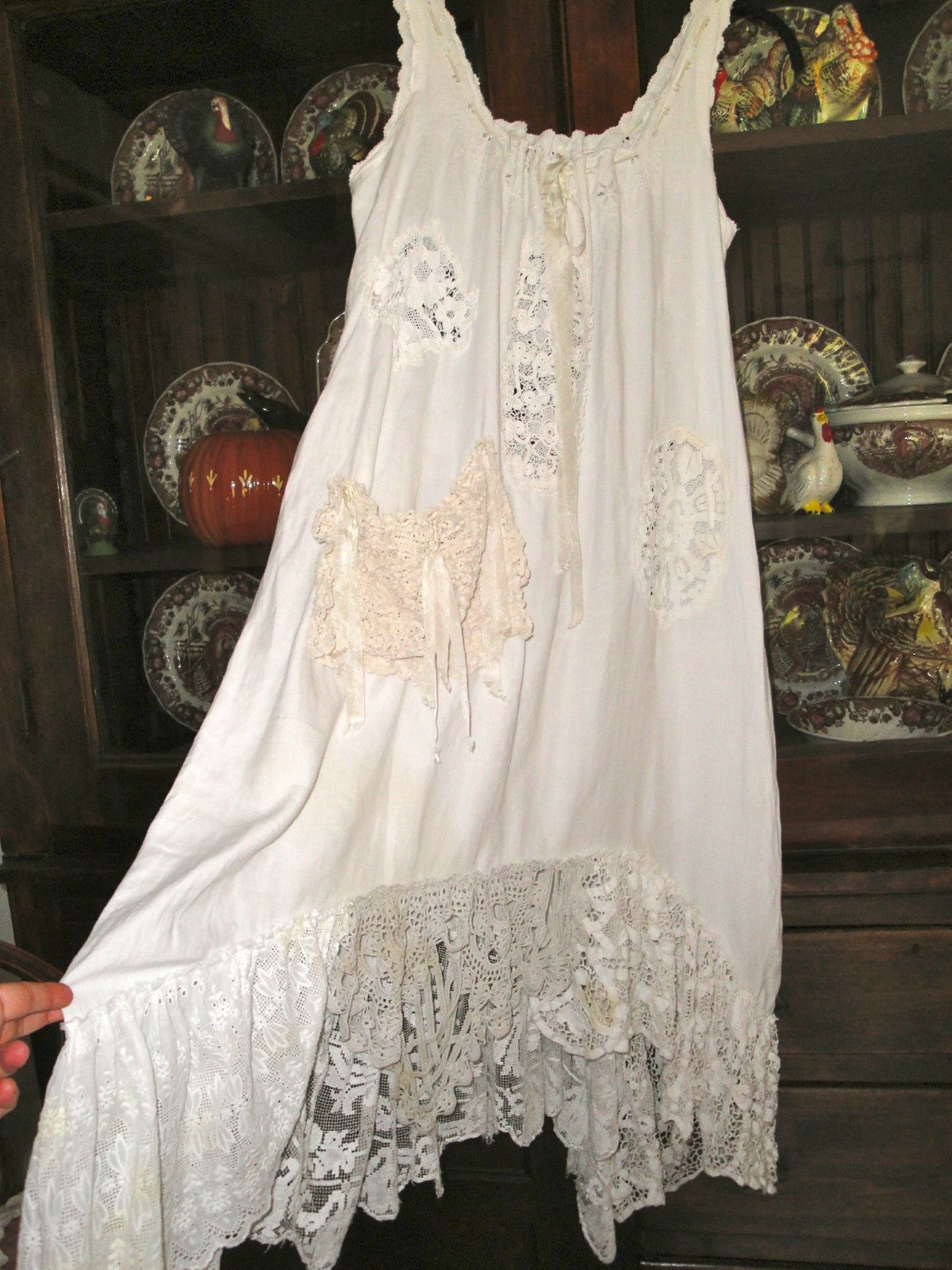 Authentic Magnolia Pearl Sweet Pea One of a kind dress .....incredible price !   eBay