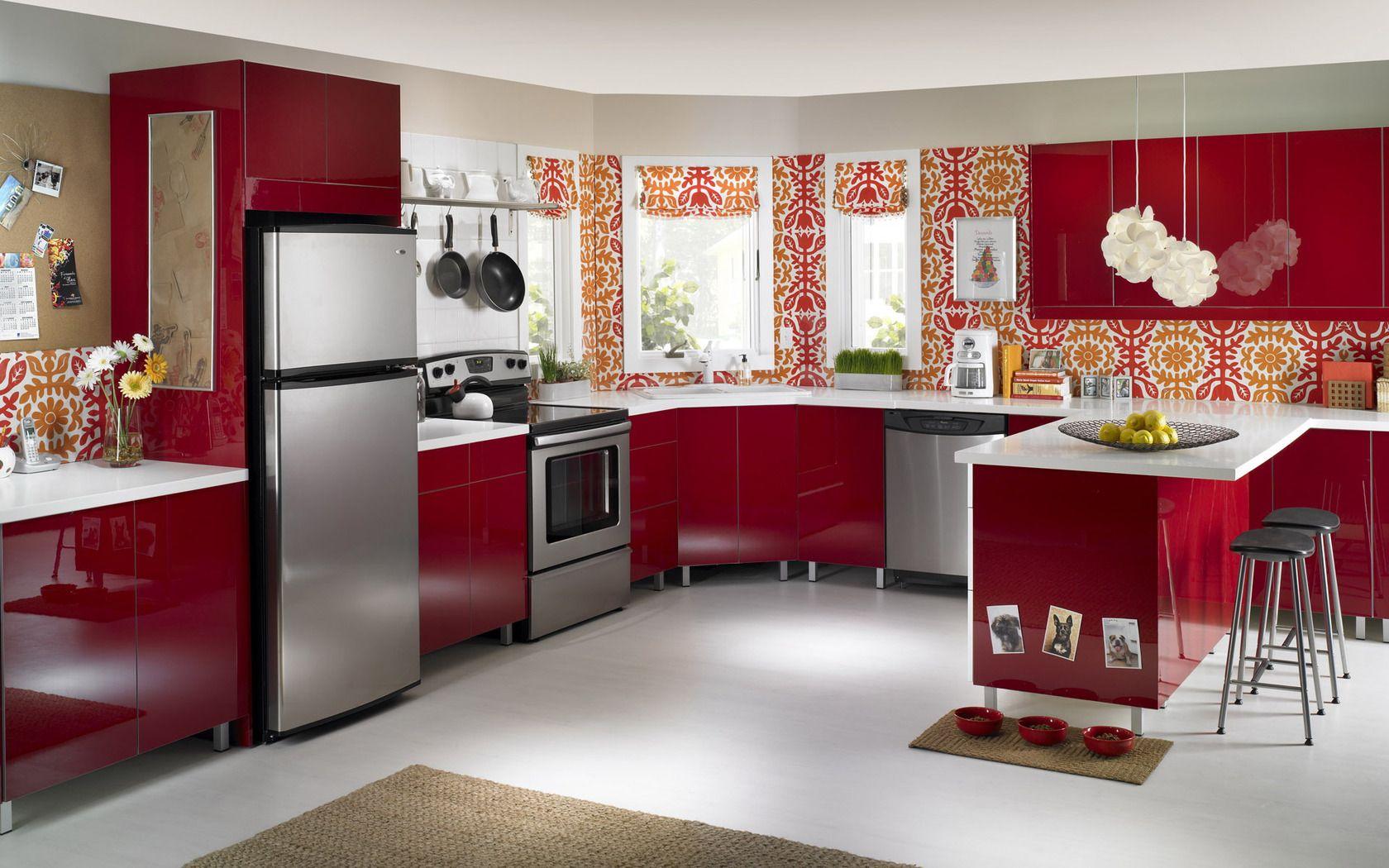 Kitchen Interior Design Hd Pics   Ecsac