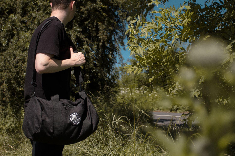d0256078f3e The Bearhug Co - Black  Barrel Bag   thebearhug  barrelbag  blackbag ...