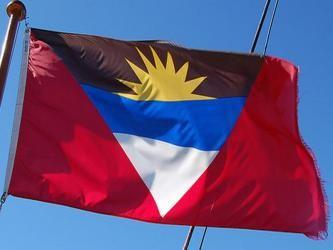 Antigua E Barbuda Goruntuler Ile Bayrak
