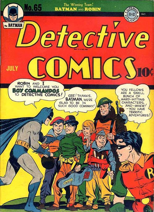 Detective+Comics+V1937+%2365+%281942_7%29+-+Page+2.jpg (498×685) Comic Book Critic Shared publicly - 7:26 PM Detective Comics #65 (Jul '42) cover by Jack Kirby, Joe Simon, & Jerry Robinson