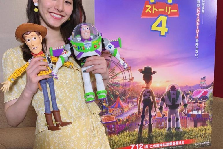 新木優子 〜お知らせ〜 なんとこの度、 ディズニー/ピクサー