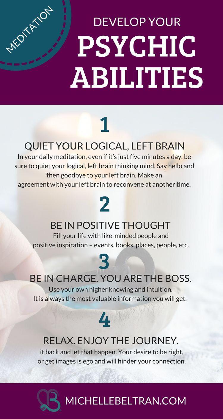 Psychic Medium Gives 4 Powerful Ways To Improve Your Psychic Abilities Psychic Abilities Psychic Development Psychic Mediums