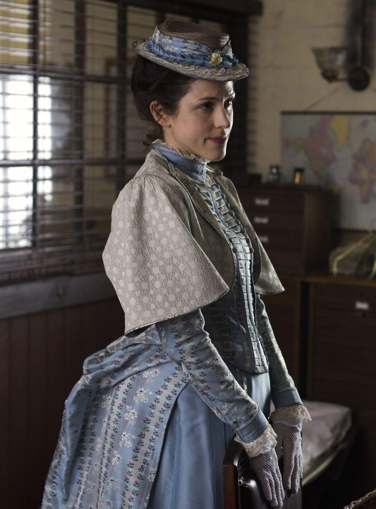 Amanda Hale as Emily Reid in Ripper Street (TV Series, 2012).